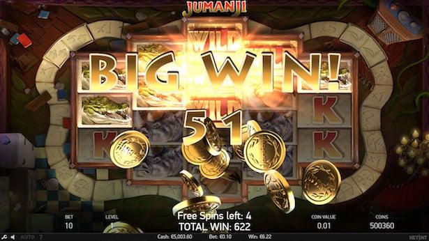 Big win Jumanji