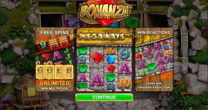 Bonanza Megaways features