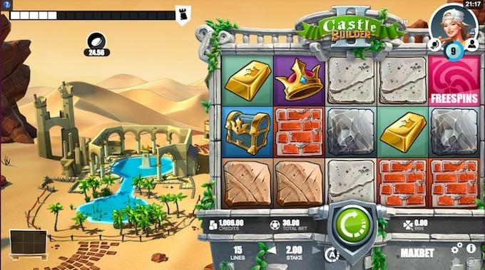 Castle Builder 2 speelveld