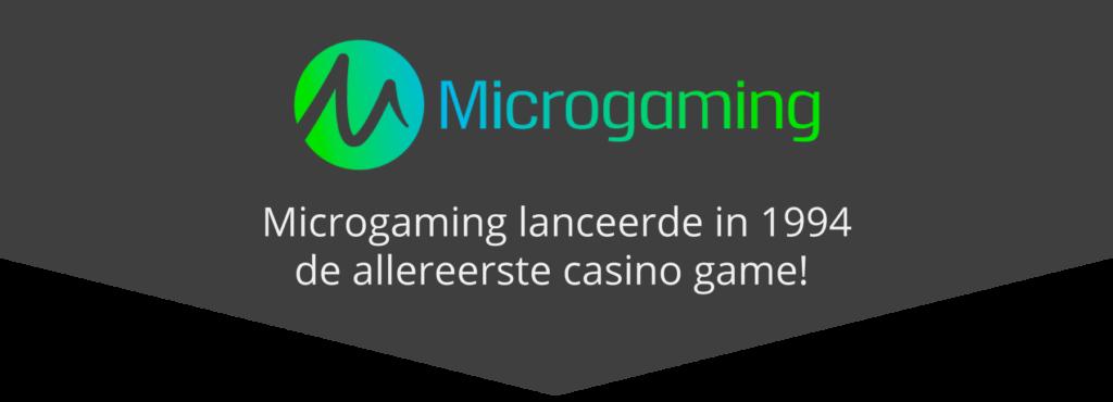 Allereerste online casinospel ooit