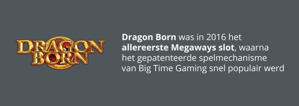 Eerste Megaways slot ooit: Dragon Born