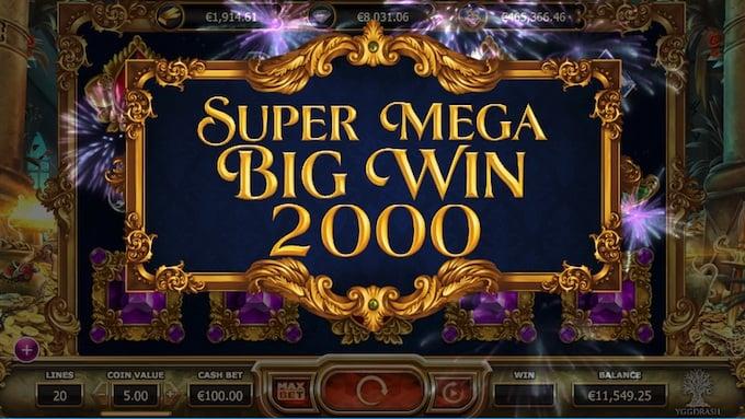 Empire Fortune Super mega Big Win