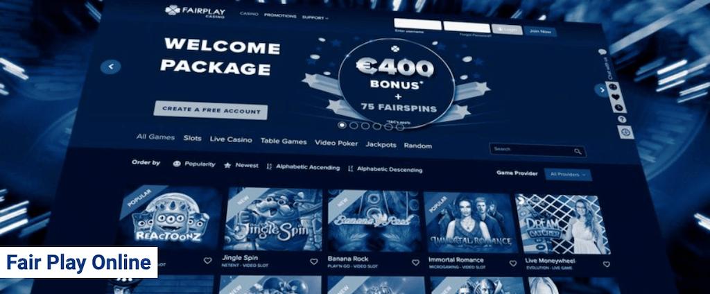 Het online casino van Fair Play