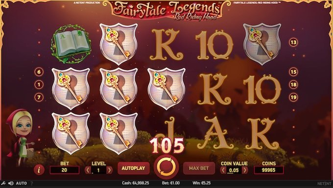 Fairytale Legends Red Riding Hood speelveld