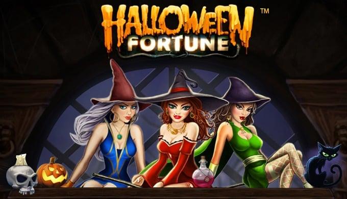 De lieftallige heksen van Halloween Fortune