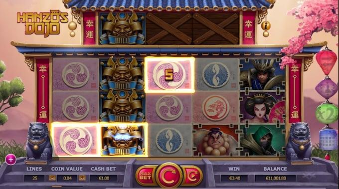 Hanzo's Dojo speelveld