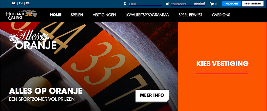 Holland Casino: vanaf oktober 2021 ook online!