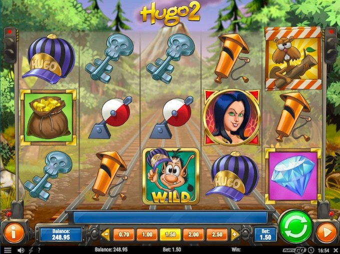 Hugo 2 speelveld
