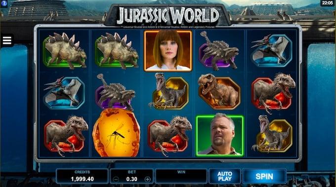 Jurassic World speelveld