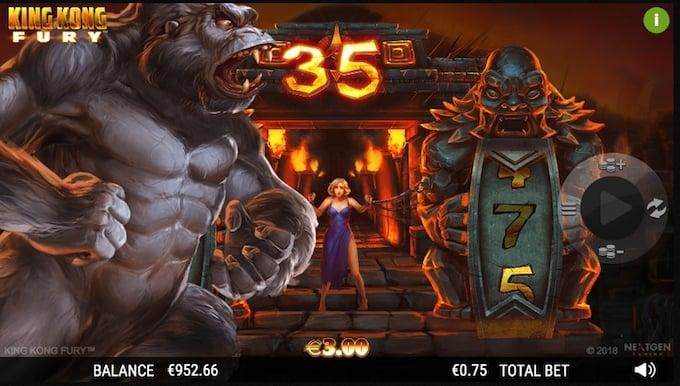 King Kong Fury free spins