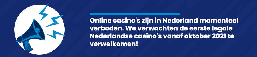 Online casino's verboden