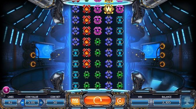 Power Plant Slot speelveld
