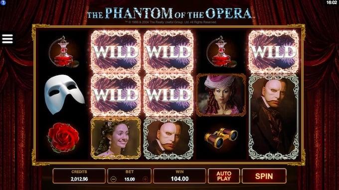 The Phantom of the Opera speelveld