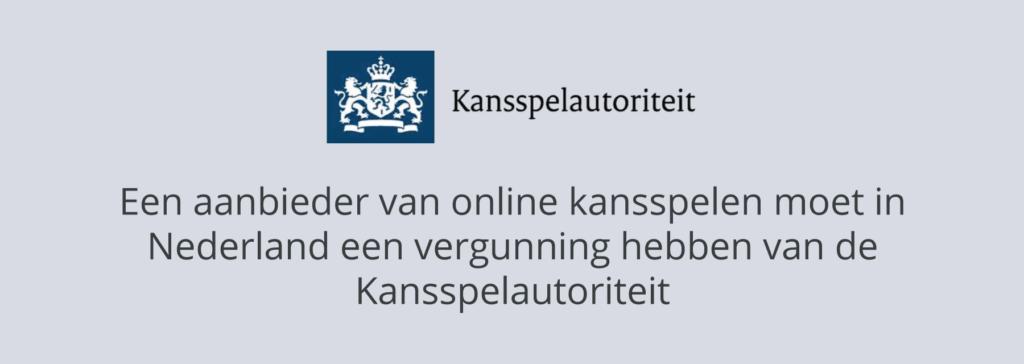 Legale online casino's in Nederland