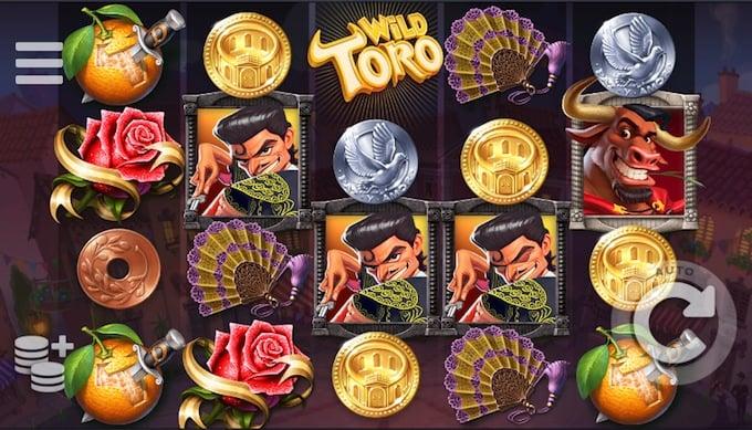 Wild Toro speelveld